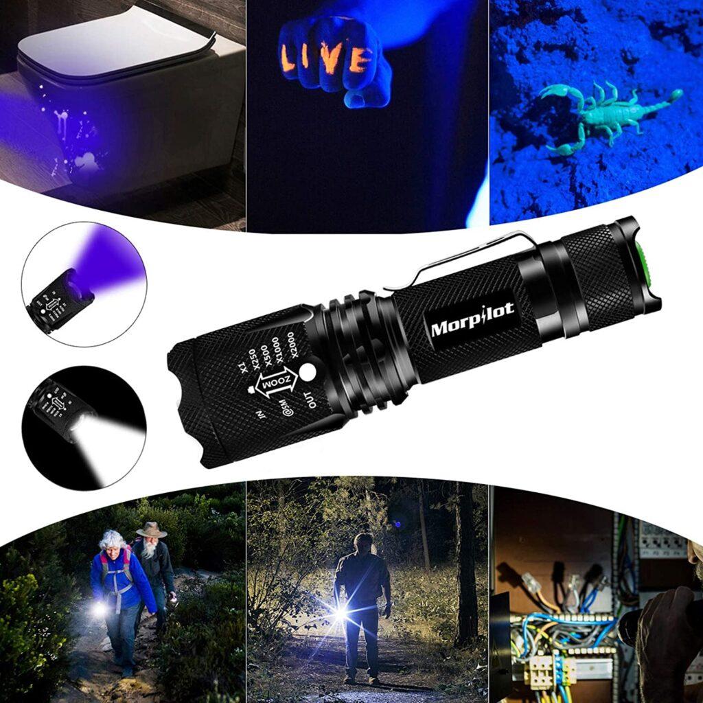 Morpilot Linterna UV