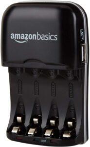 AmazonBasics Cargador de pilas